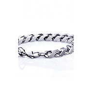 cheap -Men's Chain Bracelet - Fashion Silver Bracelet For Party Daily Casual