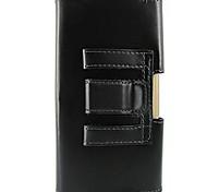 сплошной цвет ПУ кожаный чехол с талии клипа полной корпусу для iPhone 6 Plus