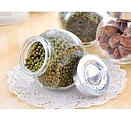 baratos -selar caixas de vidro multifuncional material diy armazenamento (cor aleatória)