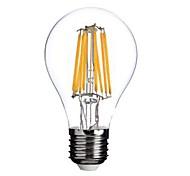 e26 / e27 светодиодные лампы накаливания a60 (a19) 8 cob 800lm теплый белый 2800-3200k переменного тока 220-240v