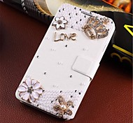 cheap -Wind-induced handmade diamond appearance flip phone set is suitable for iphone 4/4s