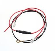 прикуривателя кабель провод сиденье преобразования автомобиль / мотоцикл с 20а предохранитель прикуривателя кабеля