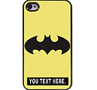 Personalized Case Cartoon Design Metal Case for iPhone 4/4S
