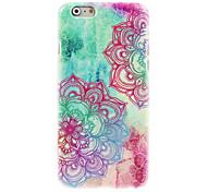 cheap -Colorful Beautiful Flower Design PC Hard Case for iPhone 7 7 Plus 6s 6 Plus