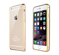 FUUSII® Two-color metal frame Bumper Cell Phone Full Body Back Cover Cases for iPhone 6/4.7(Assorted Colors)