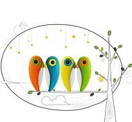 Mini Portable Folding Bird Knife Travel Tool Zirconia Fruit Cutter  (Assorted Color)