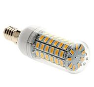 HKV® 4.5W E14 LED Corn Lights T 69 LEDs SMD 5730 Warm White 450-500lm 3000-3500K AC 220-240V