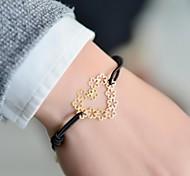 cheap -Women's Heart Charm Bracelet - Love LOVE Bracelet For Wedding Party Daily
