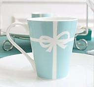 """Недорогие -Тиффани творческий свадебный подарок стакана молока чашка кофейная чашка ложка кофейная чашка костяного фарфора 3.4 """"* 3.4"""" * 3.9 """""""