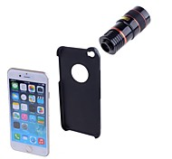 cheap -ABS Fish-Eye Lens Long Focal Lens Wide-Angle Lens 8X Lens with Case iPhone 6