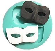 maschere di danza fondente muffe della torta muffa del sapone del cioccolato per la cucina strumento di cottura della decorazione sm-295