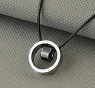 Недорогие -Муж. Прочее Ожерелья с подвесками  -  На заказ Уникальный дизайн Мода Белый Черный Желтый Ожерелье Назначение Новогодние подарки Подарок