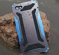 Трансформатор прохладный металл водонепроницаемым и пылезащитный и анти скрести задняя крышка для Iphone 6с 6 плюс SE 5s 5