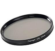 tianya® 77мм CPL круговой поляризатор фильтр для канона 24-105 24-70 17-40 я Никон 18-300 объектив