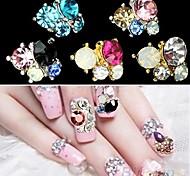 Недорогие -5 Украшения для ногтей Блеск и Пудре Классика Милый Свадьба Повседневные Классика Милый Свадьба Высокое качество