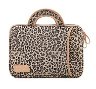 "cheap -13.3"" 14.1"" 15.6"" Leopard Prints Shakeproof Laptop Bags with Handle for Dell ThinkPad MacBook HP"