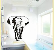 окружающей среды съемный стикер слон стены PVC