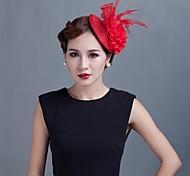 baratos -mulheres festa de casamento sinamay feather fascinators sfc02062 estilo elegante