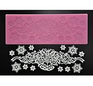 abordables -quatre c mat pad de dentelle fournitures d'artisanat de sucre de silicone de la décoration pour la cuisson, le silicone mat fondant outils