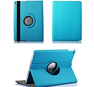 cheap -Case For iPad Air 2 with Stand Origami 360° Rotation Full Body Cases Solid Color Textile for iPad Air 2