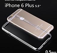 5.5Inch Ultra Thin Soft TPU Gel Transparent Case for iphone 6S Plus/6 Plus