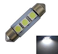 Festoon Decoration Light 3 SMD 5050 60lm Cold White 6000-6500K DC 12V