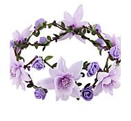 Women/Flower Girl Foam Flowers With Wedding/Party Headpiece Flower headband