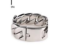 Kalen Men's Jewelry Shiny Design Fashion Stainless Steel Wide Cuff Bracelet