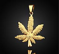 Недорогие -Муж. форма Мода Ожерелья с подвесками Кулоны Позолота Ожерелья с подвесками Кулоны Повседневные Спорт Бижутерия