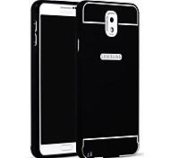 Недорогие -Кейс для Назначение SSamsung Galaxy Samsung Galaxy Note Other Кейс на заднюю панель Сплошной цвет Акрил для Note 3