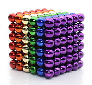 cheap -Magnet Toys Super Strong Rare-Earth Magnets Magnetic Balls 216 Pieces 5mm Toys Metal Classic & Timeless Magnetic Square Birthday
