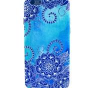 Недорогие -синяя утренняя картина славы tpu мягкая для iphone 5c iphone случаи