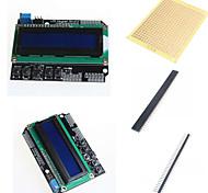 Недорогие -1602 ЖК-экран и аксессуары для Arduino клавиатуры