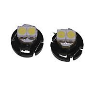 Недорогие -T4.2 Автомобиль Грузовики и трейлеры Мотоцикл белый 0.5W SMD 3528 6500-7000Лампа подсвета приборной доски Лампа для чтения Габаритные