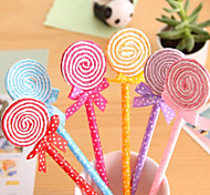cheap -Colorful Lollipop Shaped Ball Pen
