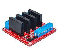abordables -quatre pour Arduino relais d'état solide (rouge)