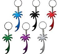 пальмы бутылки металла нож брелок для ключей брелок 1шт (случайный цвет)