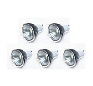 GU10 Lâmpadas de Foco de LED MR16 1 leds COB 450lm Branco Quente Branco Frio Branco Natural Regulável AC 220-240 AC 110-130
