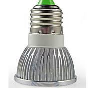 1pc e26 / e27 светодиодный прожектор 3w высокой мощности привели 260lm теплый белый холодный белый ac220-240v