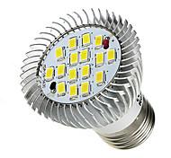 abordables -520-550 lm E26/E27 Focos LED 16 leds SMD 5630 Blanco Fresco AC 85-265V
