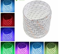 abordables -SENCART Tiras LED Flexibles 150 LED Blanco Cálido RGB Blanco Verde Amarillo Azul Rojo Control remoto Cortable Regulable Impermeable
