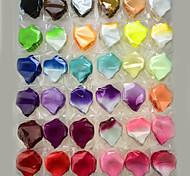 100 штук искусственный лепесток для украшения многоцветной свадьбы