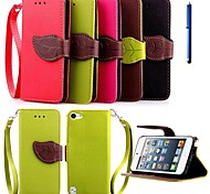 cheap -Case For Apple Auto Sleep / Wake Up Hard PU Leather for