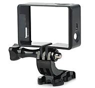 Smooth Frame Screw Mount / Holder For Action Camera Gopro 4 Gopro 3 Gopro 2 Gopro 3+ Gopro 1 Others SJ4000 SJ5000 Plastic