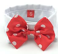 Недорогие -Кошка Собака пояс/Бабочка Одежда для собак Праздник Свадьба Бант Черный Красный Костюм Для домашних животных
