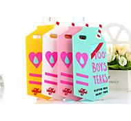 силиконовый материал классический стиль молока коробка для Iphone 6с 6 плюс