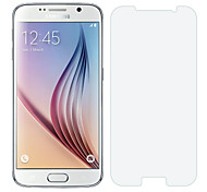 Недорогие -Протектор экрана из закаленного стекла для Samsung Galaxy S6, 9Н 0.3mm3 мм 2.5D