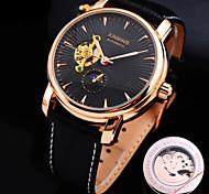 Недорогие -Механические часы С автоподзаводом Натуральная кожа Группа