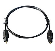 cheap -6FT Digital Fiber Optic Cord Optical TosLink Audio Cable