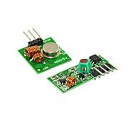 Недорогие -433m супер регенеративный модуль беспроводной передачи модуль mlarm передатчик приемник 1
